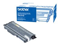 Brother TN2110 - svart - original - tonerkassett TN2110