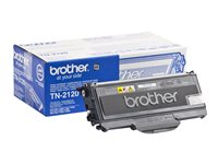 Brother TN-2120 - svart - original - tonerkassett TN2120