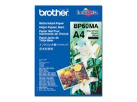 Brother BP 60MA Matte Inkjet Paper - papper - 25 ark - A4 - 145 g/m² BP60MA